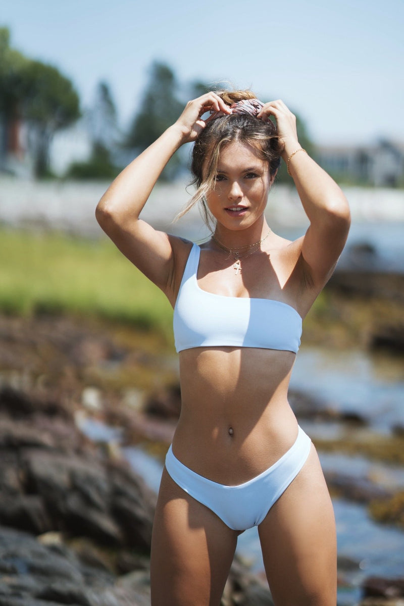 Carmella Top | Mist Blue - Wave Babe Swimwear