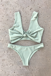 Havana High-Cut Bottom | Sage