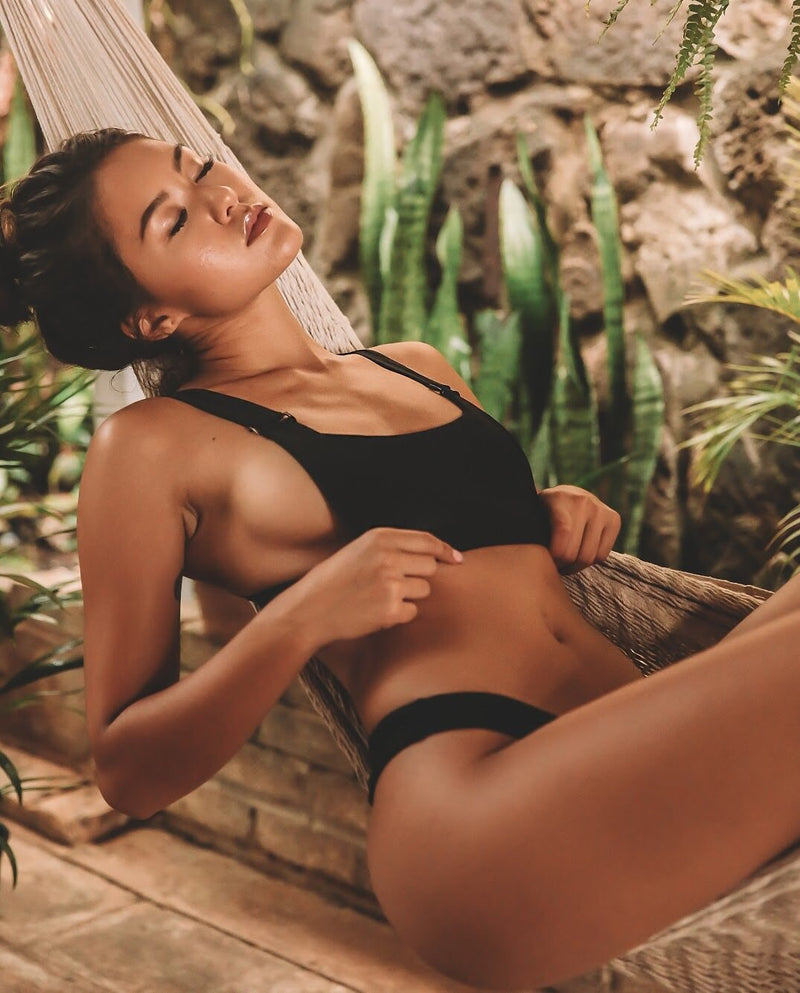 Sierra Bottom | Midnight - Wave Babe Swimwear