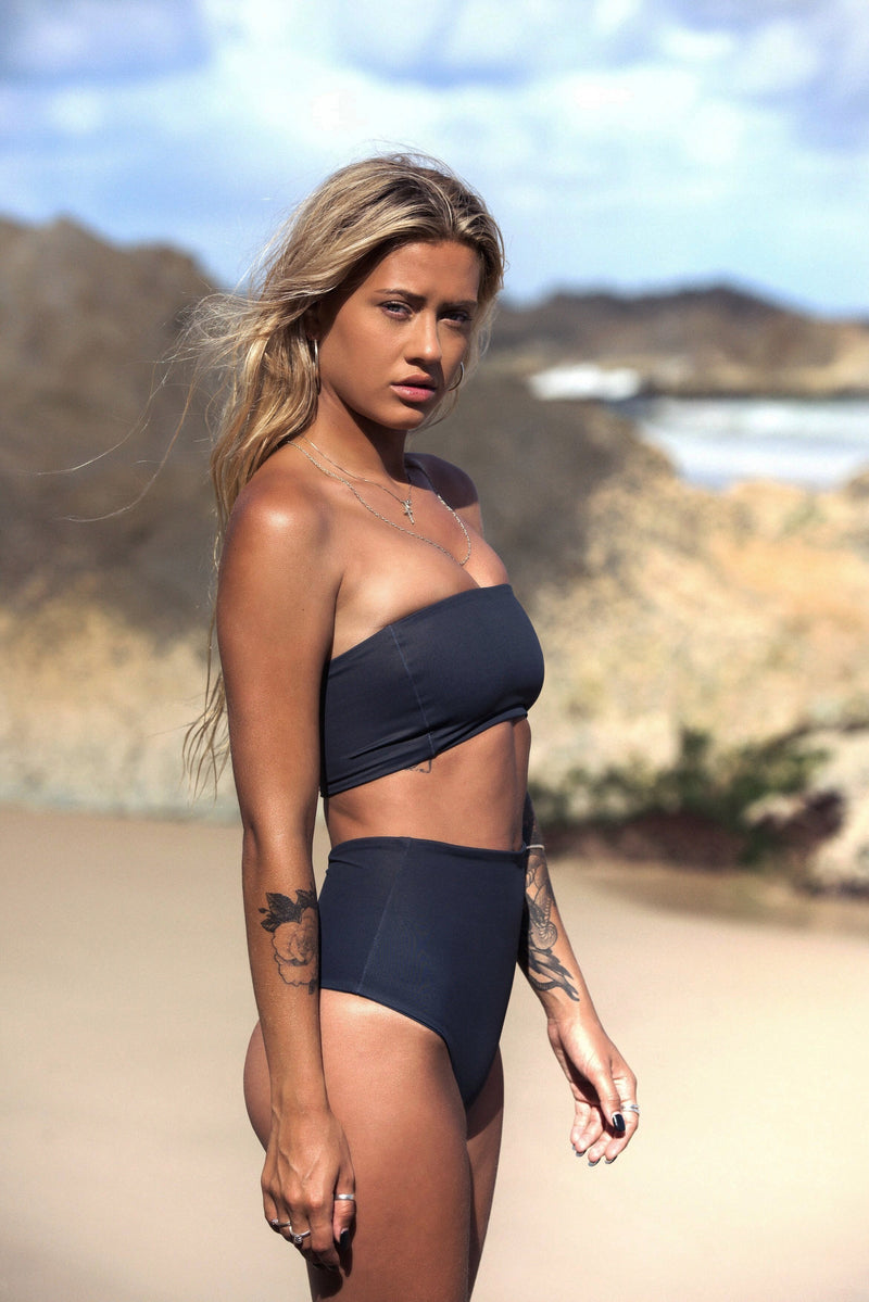 Monaco Bottom | Jet Set - Wave Babe Swimwear