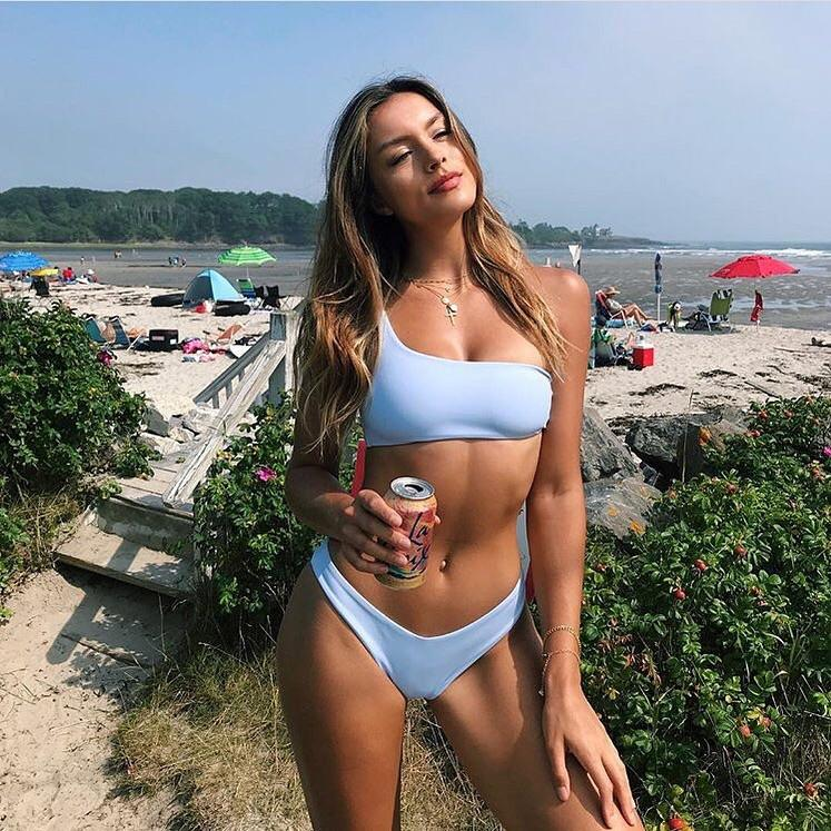 Carmella Bottom | Mist Blue - Wave Babe Swimwear