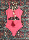 Wave Babe Swimwear Maya One Piece Minimal Bikinis Monokinis Spice Rust Red Cut Out Quality Durable Fabric 2019 Styles New Gorgeous Soft Pretty Flatlay Boho