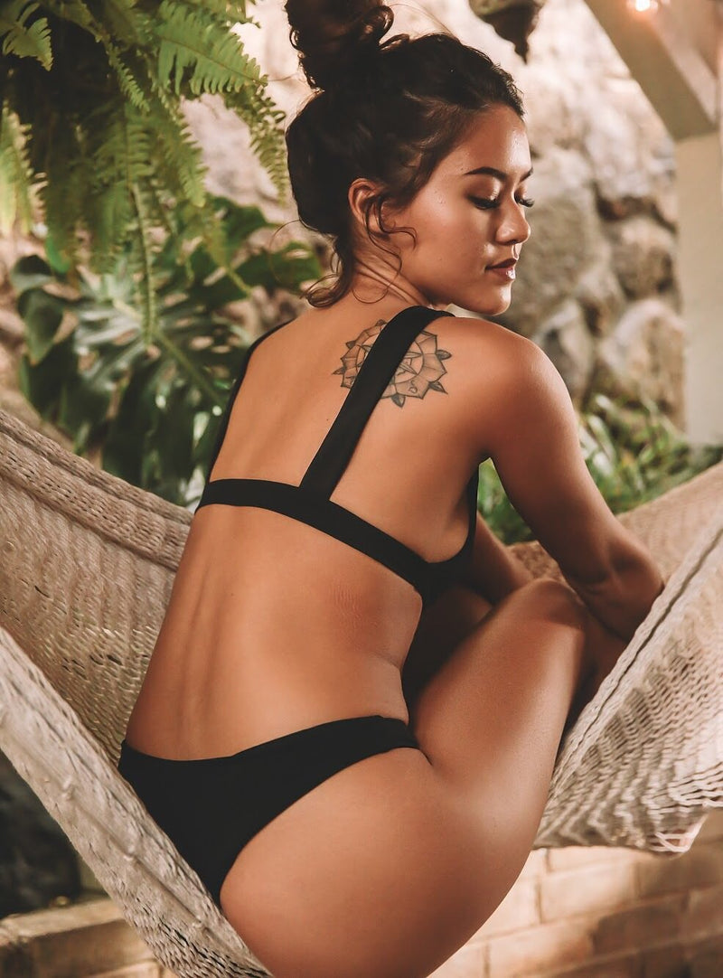 Sierra Top | Midnight - Wave Babe Swimwear