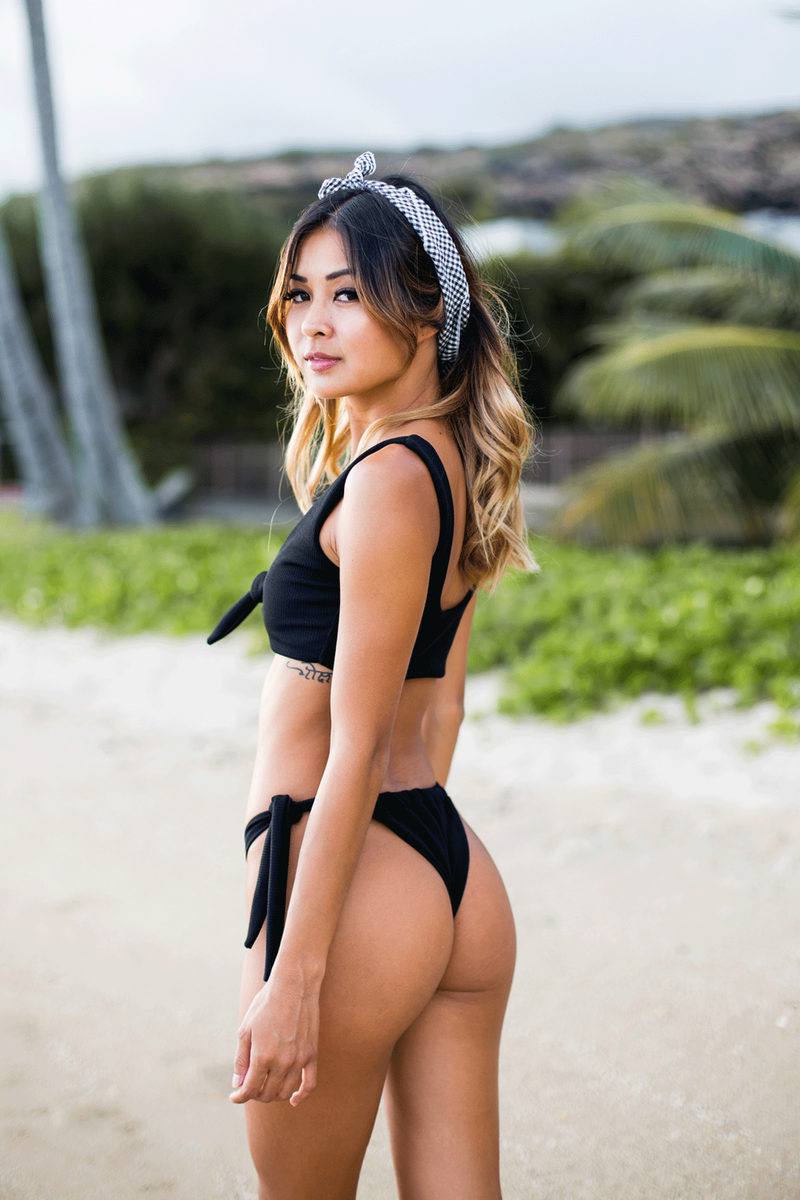 Ryder Top | Black - Wave Babe Swimwear