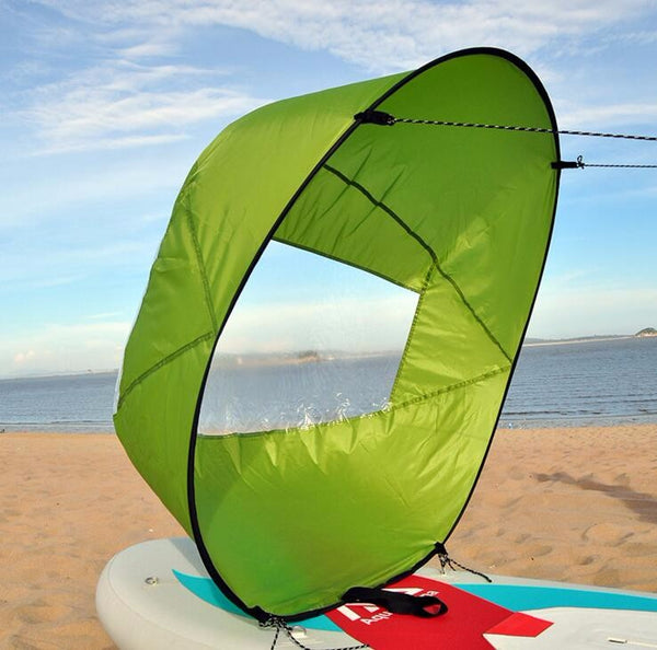 "42"" Kayak Popup Sail with Clear Window"