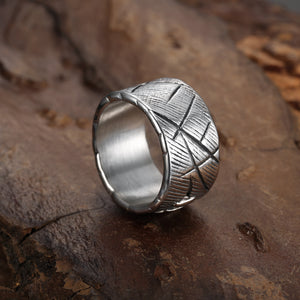 Stainless Steel Frankenstein Ring