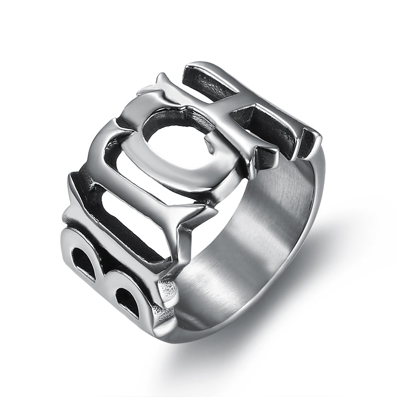 BITCH Ring - Stainless Steel 316L - Size 5 - 10 - RAREBoutiques
