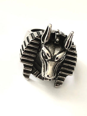 Pharaoh Sphinx Stainless Steel Ring 316L - RAREBoutiques