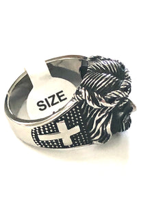 Jesus Mens Stainless Steel Ring 316L - RAREBoutiques