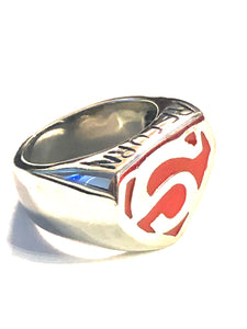 Superman Stainless Steel Ring 316L - RAREBoutiques
