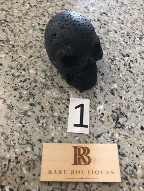Lava Rock   Natural Stone Skull