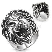 Lion Head - Stainless Steel 316L Ring - RAREBoutiques