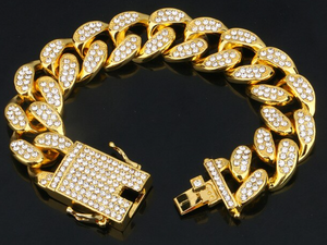 Cuban Link / Hip Hop Style Chains 18 MM - FREE MATCHING BRACELET