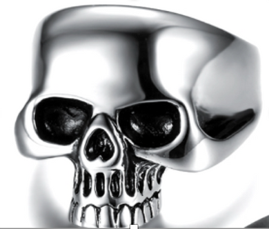 Jawless Skull Stainless Steel Ring 316L - 3 colors - RAREBoutiques