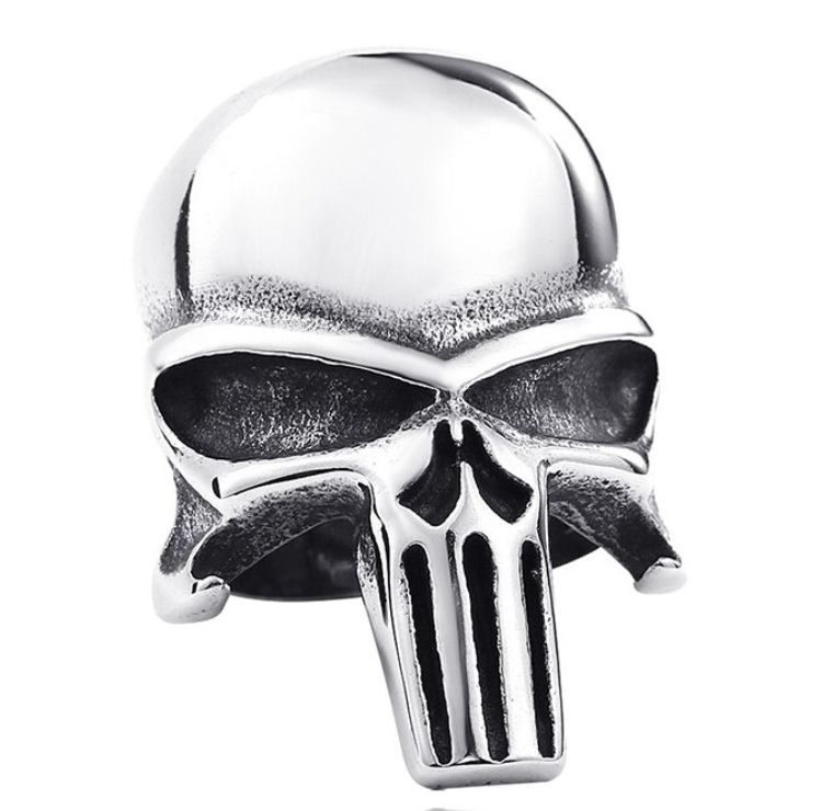 Punisher Stainless Steel Ring 316L - RAREBoutiques