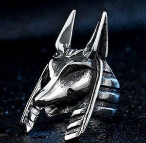 Sphinx Stainless Steel Ring 316L - RAREBoutiques