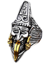hindu God Stainless Steel Ring 316L