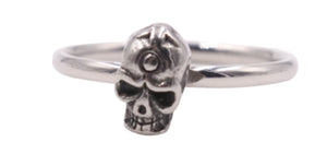 Woman's Skull Stainless Steel  Ring