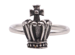 Woman's Crown Stainless Steel  Ring