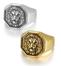 NEW ITEM - Stainless Steel Lion Head Ring