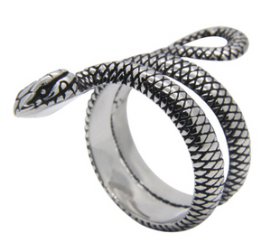 NEW ITEM - Snake Stainless Steel Cobra Ring