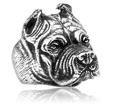 Pit Bull - Stainless steel Ring