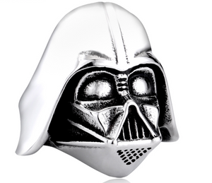 Darth Vader Stainless Steel Ring