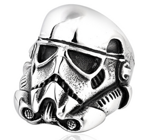 Storm Trouper - Stainless Steel Ring - RAREBoutiques