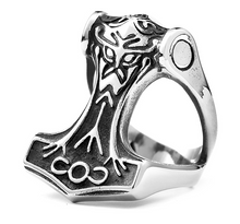 Thor - Stainless Steel Ring 316L