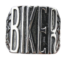 BIKER Stainless Steel Ring
