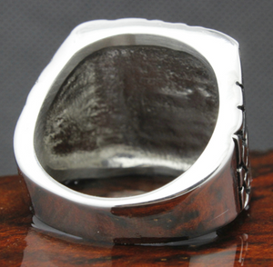 BIKER Stainless Steel Ring - RAREBoutiques