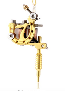Mini Tattoo Machine Key Chain - Functional model A - RAREBoutiques