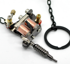 Mini Tattoo Machine Key Chain - Functional model B