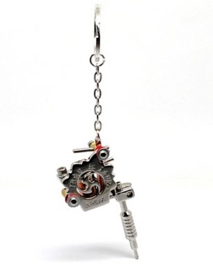 Mini Tattoo Machine Key Chain - Functional model D - RAREBoutiques