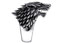 Dire Wolf Stainless Steel Ring