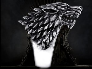 Dire Wolf Stainless Steel Ring - RAREBoutiques