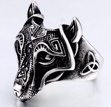 Nordic Wolf Stainless steel Ring