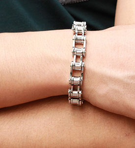 Bike Chain Stainless Steel Bracelets - $40 - RAREBoutiques