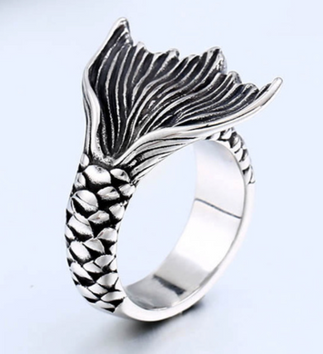 Mermaid Tail - Stainless Steel Ring - RAREBoutiques