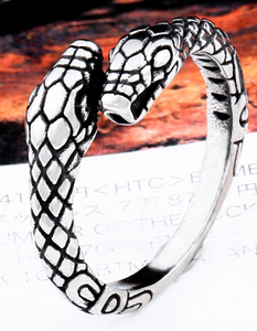 Snake Ring = Stainless Steel - RAREBoutiques