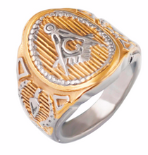 Freemason Stainless Steel Ring - Multiple Options - RAREBoutiques