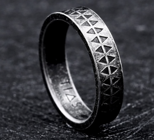 Viking Band Stainless Steel Ring 316L - Sizes 6 - 13 - RAREBoutiques