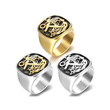 Anchor Ring - Stainless Steel 316 L - Stainless and Two Tone Options - RAREBoutiques