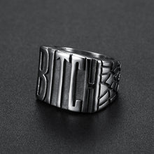 BITCH - Stainless Steel Ring 316L sizes 5 -10 - RAREBoutiques