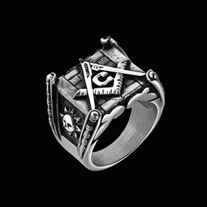 NEW ITEM -Stainless Steel  FREEMASON RING