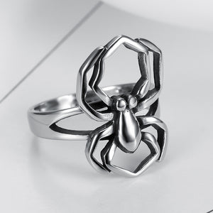 NEW ITEM  -  Woman's Stainless Steel Spider Ring