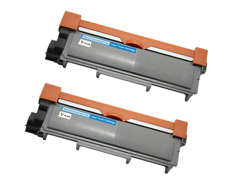 2 Pack Compatible Toner Cartridge Replacement for Brother TN-660/DR-630 (2 Black)
