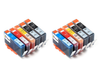 10 Pack Compatible Ink Cartridges Replacement for HP 564XL (BB/C/M/Y)