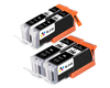 4 Pack Compatible Replacement Ink Cartridges for Canon PGI-250 / CLI-251 (BB/SB)