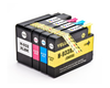 4 Pack Compatible Ink Cartridges Replacement for HP 932XL/933XL(B/C/M/Y)